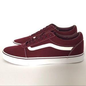 New VANS Ward Men's Low Top Canvas Sneakers Sz 13